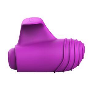 B Swish - bteased Basic Finger Vibrator Orchid 1/2