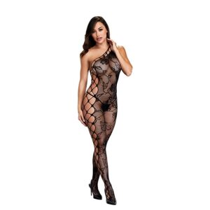 Baci - Off the Shoulder Bodystocking One Size 1/3