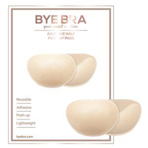 Bye Bra - Adhesive Push-Up Pads Nude 1/4