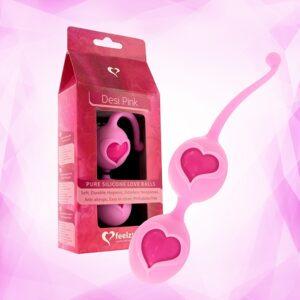 FeelzToys - Desi Love Balls Pink 1/3