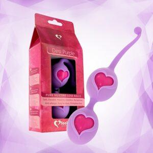 FeelzToys - Desi Love Balls Purple 1/3