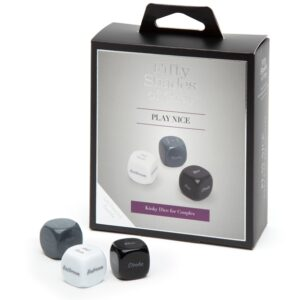 Fifty Shades of Grey - Play Nice Role Play Dice 1/4