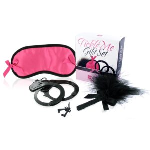 LoversPremium - Tickle Me Gift Set Pink 1/3