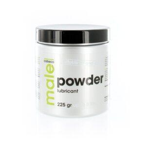 Male - Powder Lubricant 225 gram 1/2