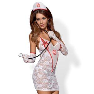Obsessive - Medica Dress Costume S/M 1/2