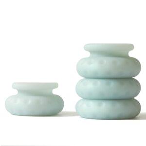 Ohnut - Classic Soft Buffer Rings (Set of 4) Jade 1/4