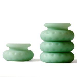 Ohnut - Wider Soft Buffer Rings (Set of 4) Sage 1/3