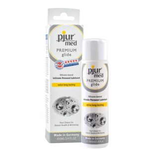Pjur - MED Premium Glide Silicone Based Personal Lubricant 100 ml 1/1