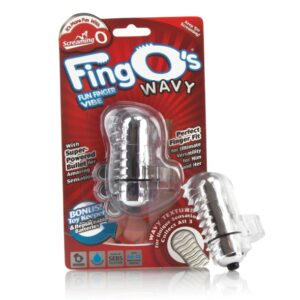 The Screaming O - The FingO Wavy Clear 1/3